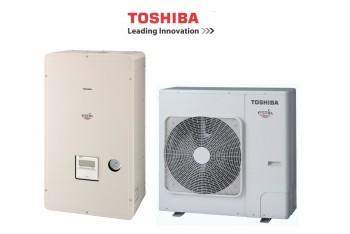 TOSHIBA  HWS-805H-E+ HWS-805XWHT9-E ESTIA levegő-víz hőszivattyú