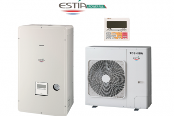 Toshiba Estia HWS-P805HR-E-HWS-P805XWHM6-E HIGH Power levegő - víz hőszivattyú 3 fázisú