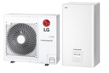 LG Therma-V - HN0916M.NK4 + HU051MR.U44 Levegő -víz Hőszivattyú